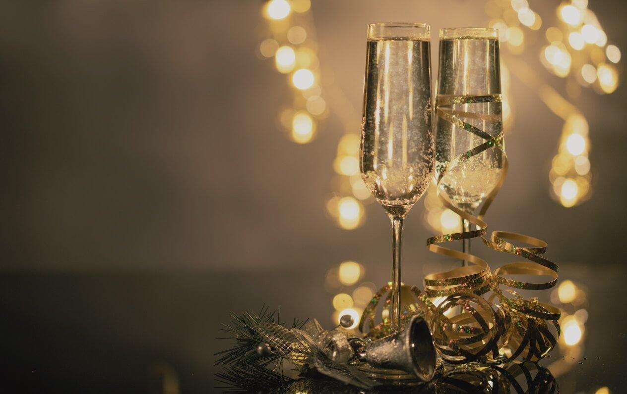 Champagne til nytår