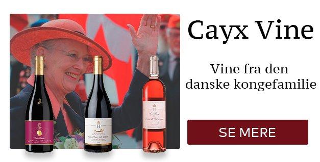 Cayx vine fra den danske kongefamilie