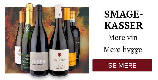 Smagekasser - Mere vin = mere hygge