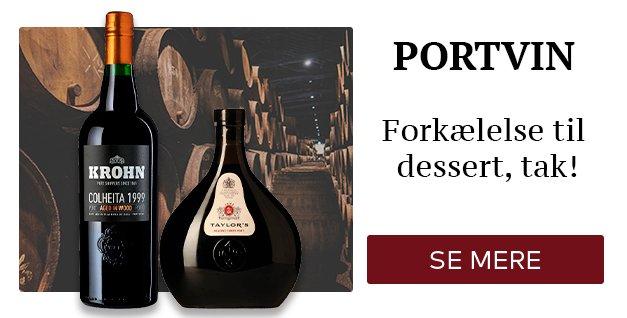Portvin - Forkælelse til dessert, tak!