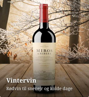 Rødvin - vintervin til snevejr