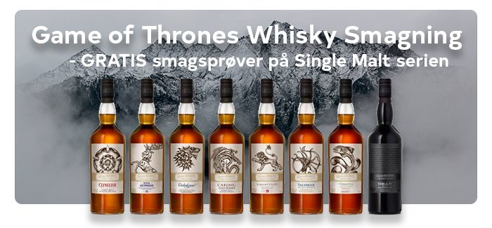 Game of Thrones Whisky Smagning