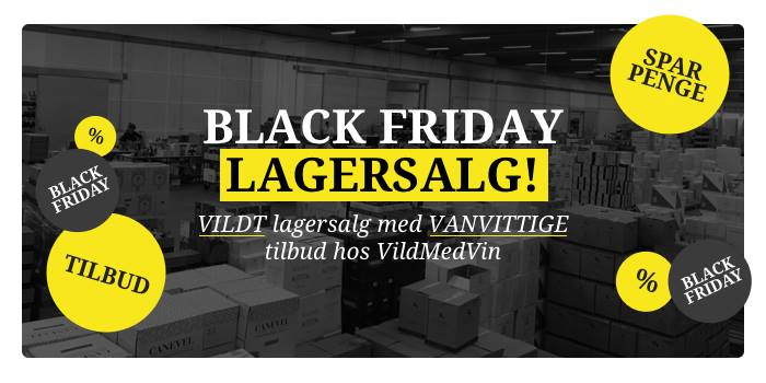 Black Friday lagerudsalg